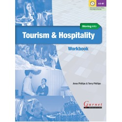 Moving into Tourism and Hospitality Workbook + Audio CD
