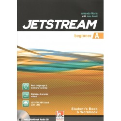Jetstream Beginner Combo Part A Student's Book and Workbook with e-zone