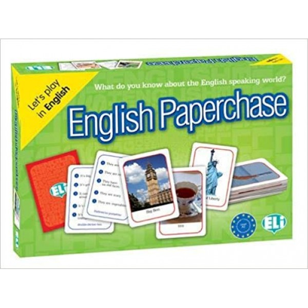 ELI Language Games: English Paperchase