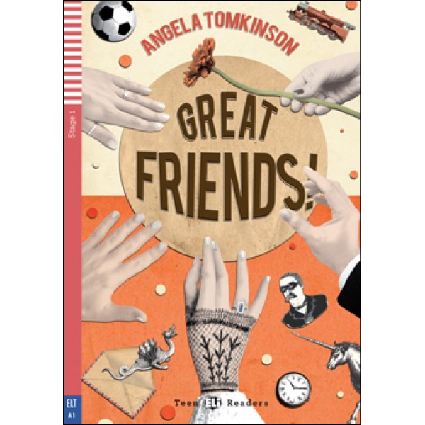 Great Friends! (A1) with Audio CD