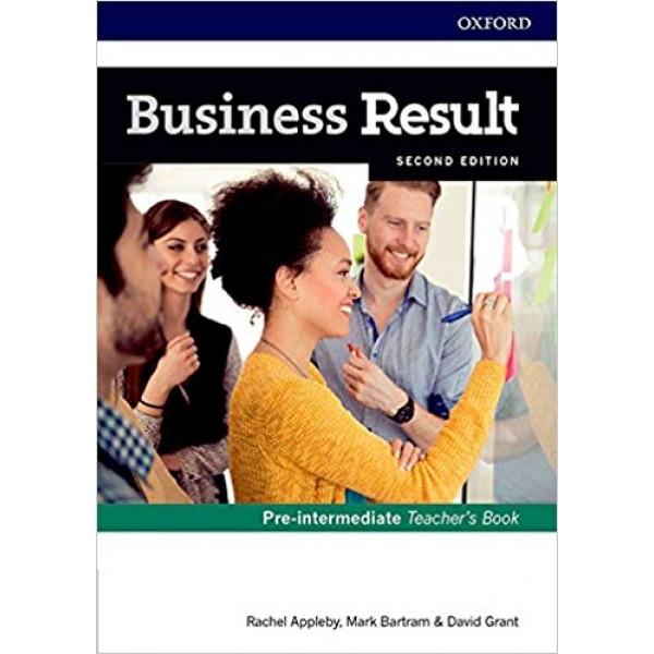Business Result Pre-Intermediate Teacher's Book and DVD