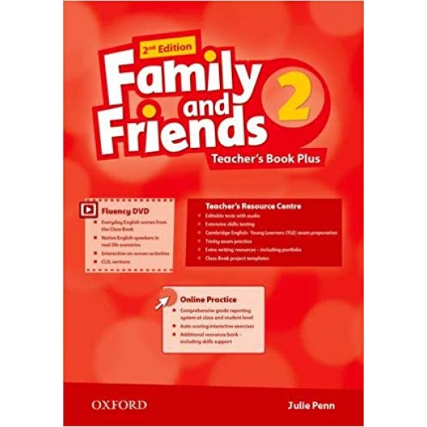 Family and Friends 2 Teacher's Book Plus