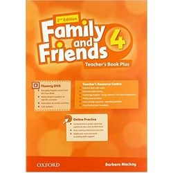 Family and Friends 4 Teacher's Book Plus