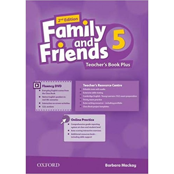 Family and Friends 5 Teacher's Book Plus