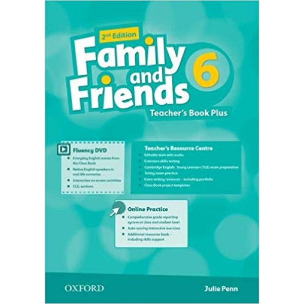 Family and Friends 6 Teacher's Book Plus