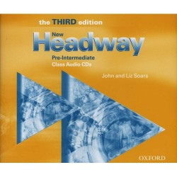 New Headway 3rd Edition Pre-Intermediate Class Audio CDs (3)