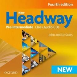 New Headway 4th Edition Pre-Intermediate A2-B1 Class Audio CDs