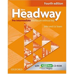 New Headway 4th Edition Pre-Intermediate A2-B1 Workbook (Without Key)