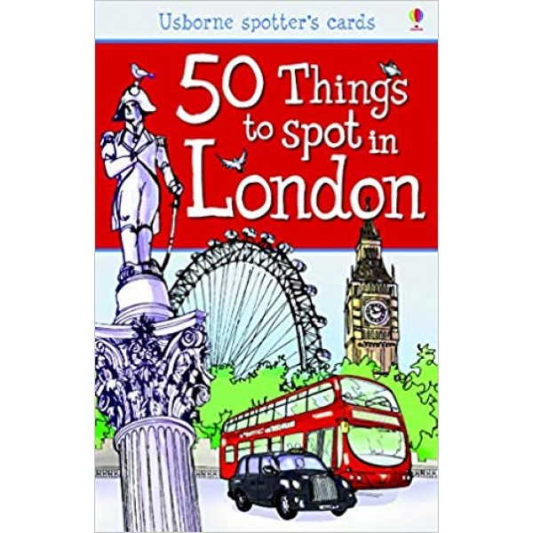 50 Things to Spot in London Flashcards