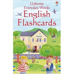 Everyday Words English Flashcards