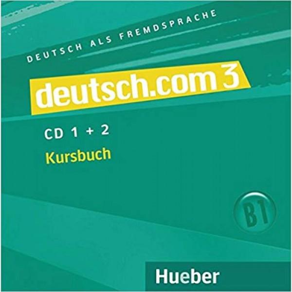 deutsch.com 3 CDs zum Kursbuch