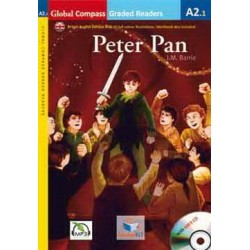 Peter Pan with MP3 Audio CD, A2.1 Level