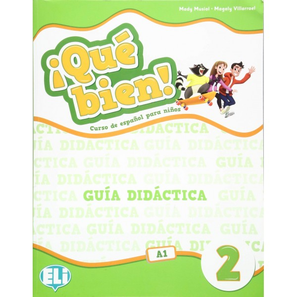 ¡Que bien! 2 Guia didactica con CD-Audio