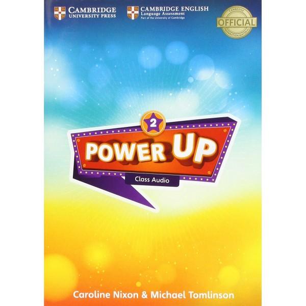 Power Up Level 2 Class Audio CDs (4)