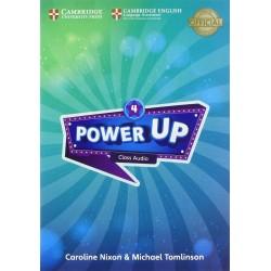 Power Up Level 4 Class Audio CDs (4)