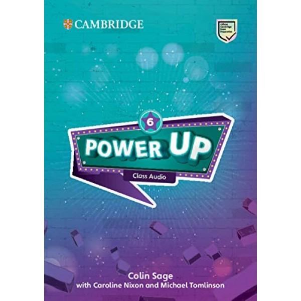 Power Up Level 6 Class Audio CDs (4)