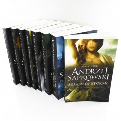 The Witcher Series 7 Books Collection Set, Andrzej Sapkowski