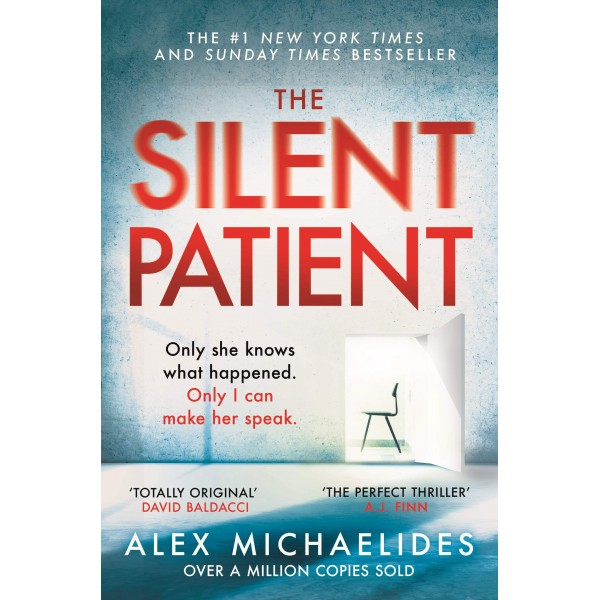 The Silent Patient, Alex Michaelides