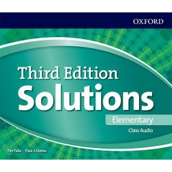 Solutions (3rd Edition) Elementary Class Audio CDs