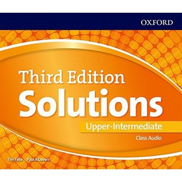 Solutions (3rd Edition) Upper-Intermediate Class Audio CDs