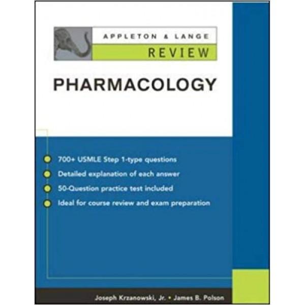 Appleton and Lange Review Pharmacology, Krzanowski