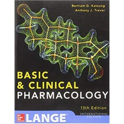 Basic and Clinical Pharmacology 13th Edition, Bertram Katzung