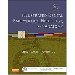 Illustrated Dental Embryology, Histology, and Anatomy 4th Edition, Fehrenbach
