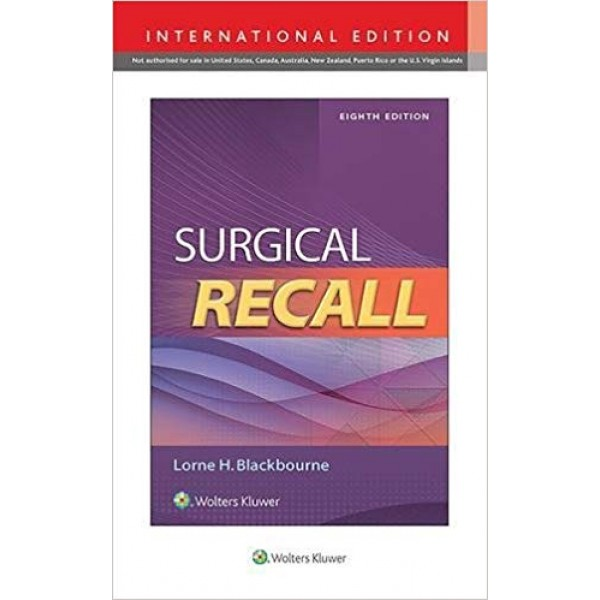 Surgical Recall 8th Edition, Lorne Blackbourne