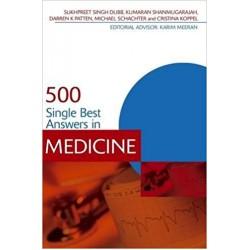 500 Single Best Answers in Medicine, Dubb
