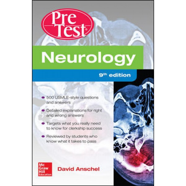 Neurology PreTest Self-Assessment And Review 9th Edition, Anschel
